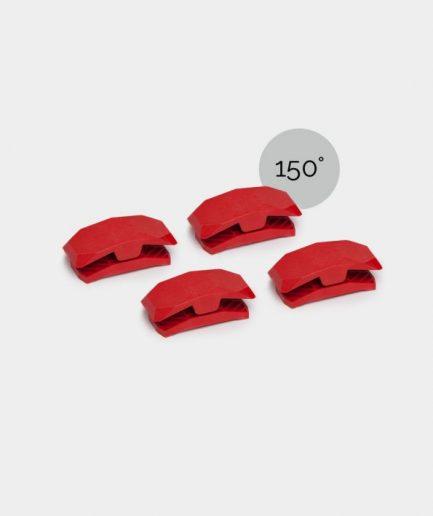 connecteurs playwood 150° rouge