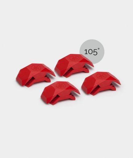 Connecteurs playwood 105° rouge